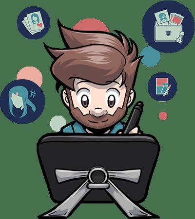 AngelMJ - Illustrateur freelance